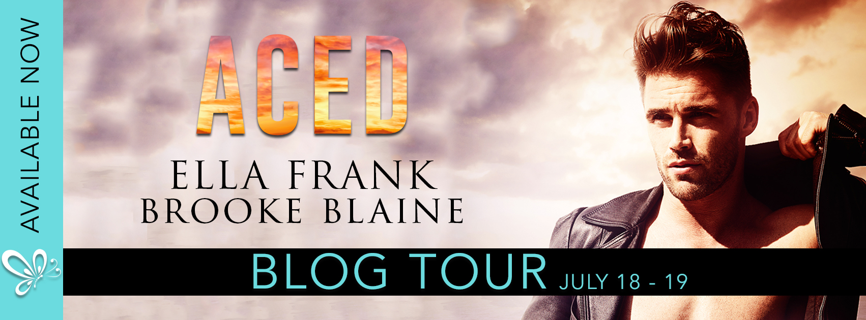 Blog Tour, Review & Excerpt ♥ Aced by Ella Frank & Brooke Blaine