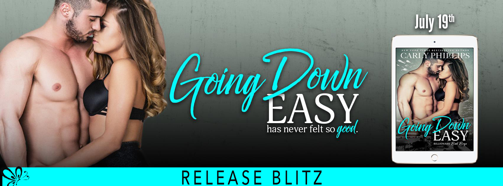 Release Blitz: Going Down Easy by Carly Phillips