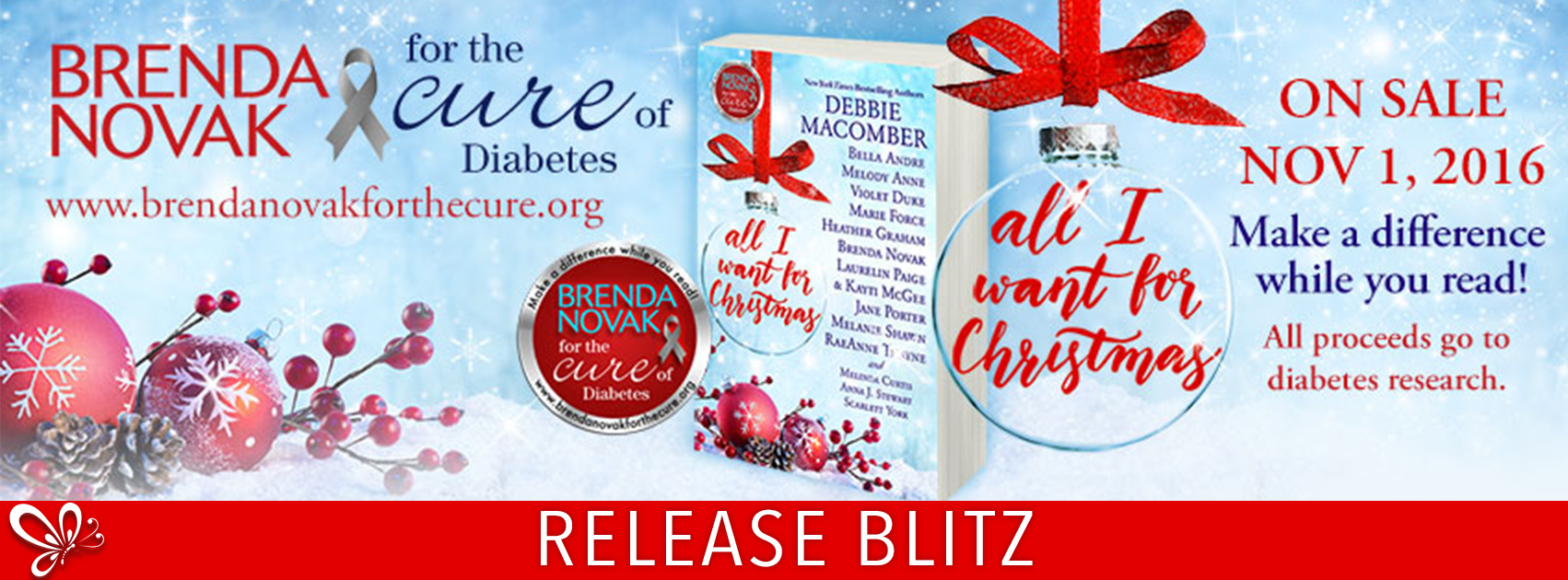 Release Blitz: All I Want For Christmas