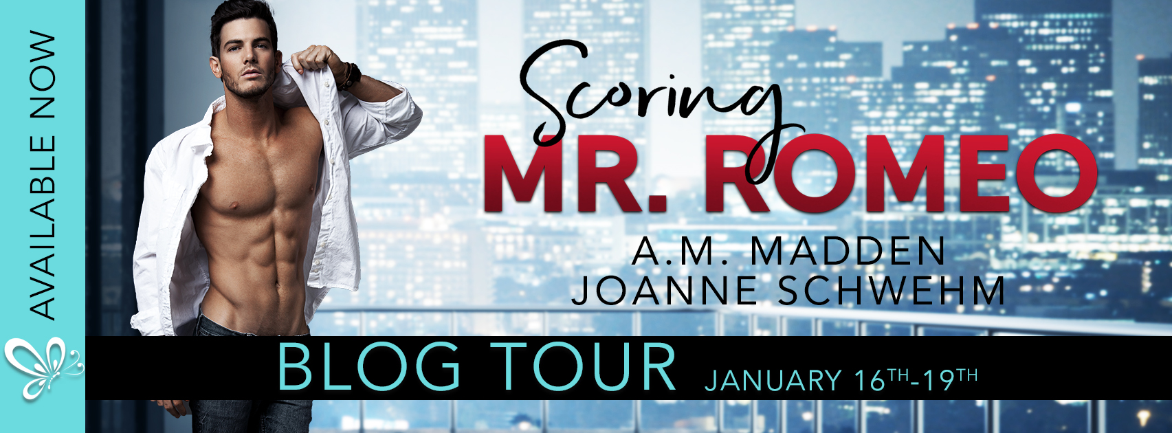 Scoring Mr. Romeo by A.M. Madden & Joanne Schwehm Blog Tour Review