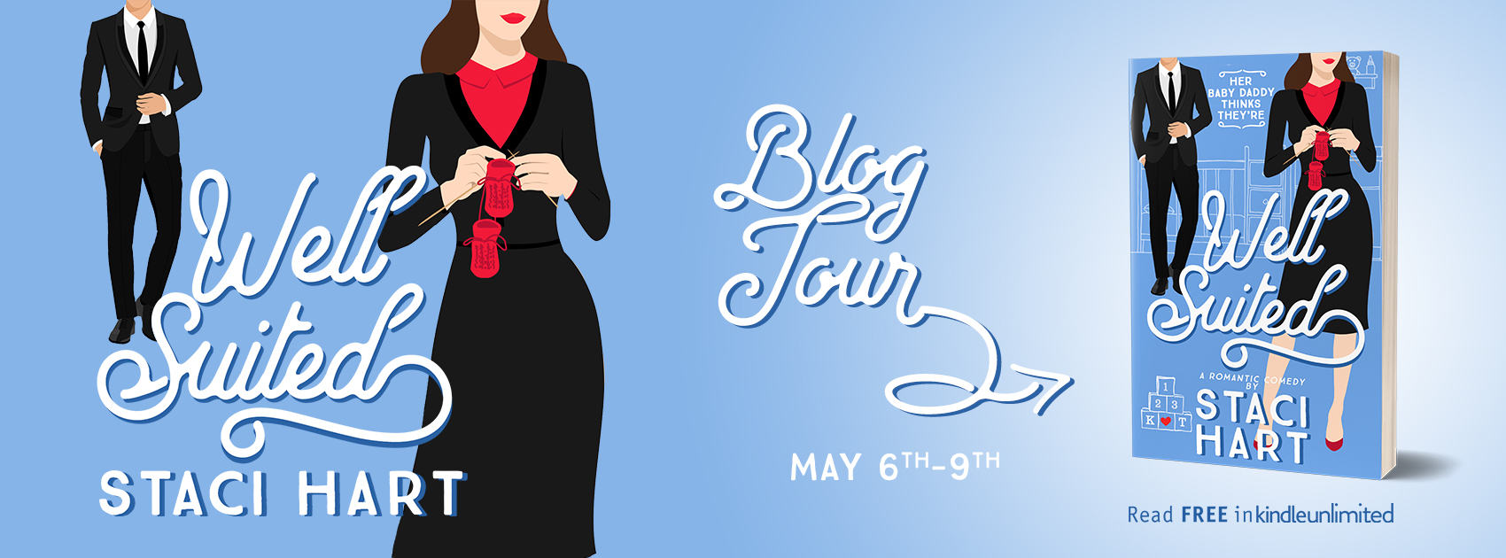 Blog Tour: Well Suited by Staci Hart