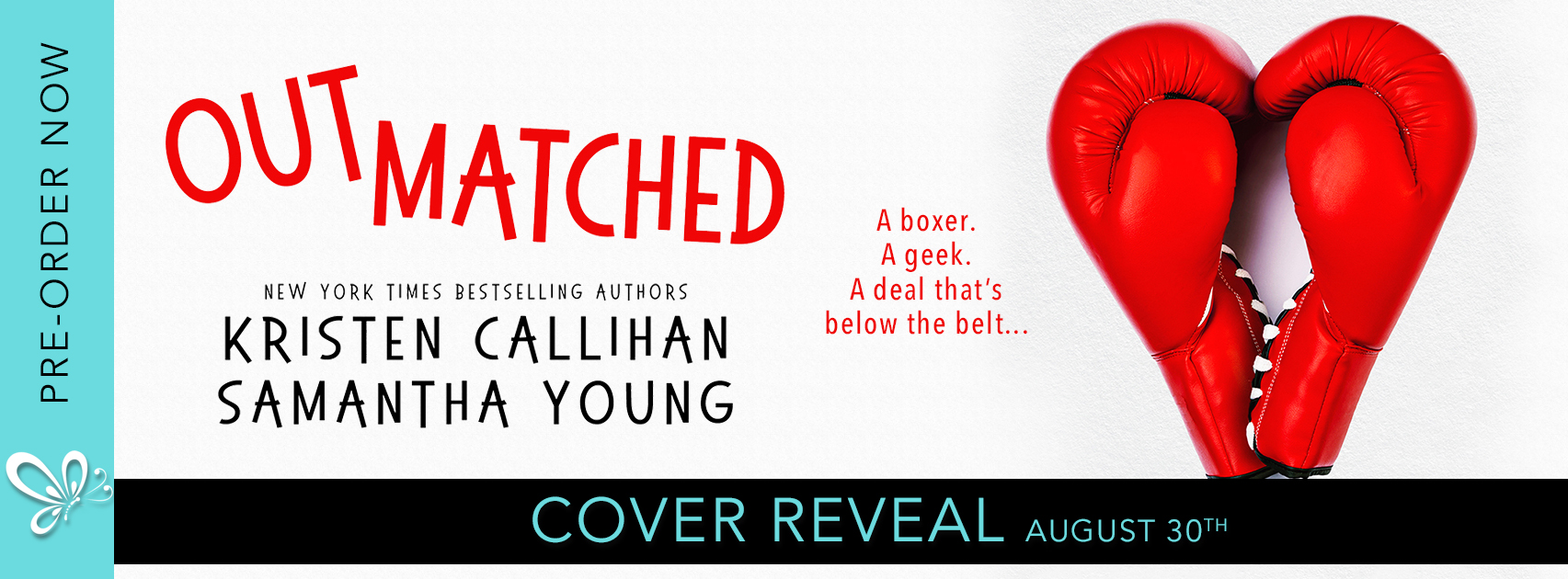 Cover Reveal: Outmatched by Kristen Callihan and Samantha Young