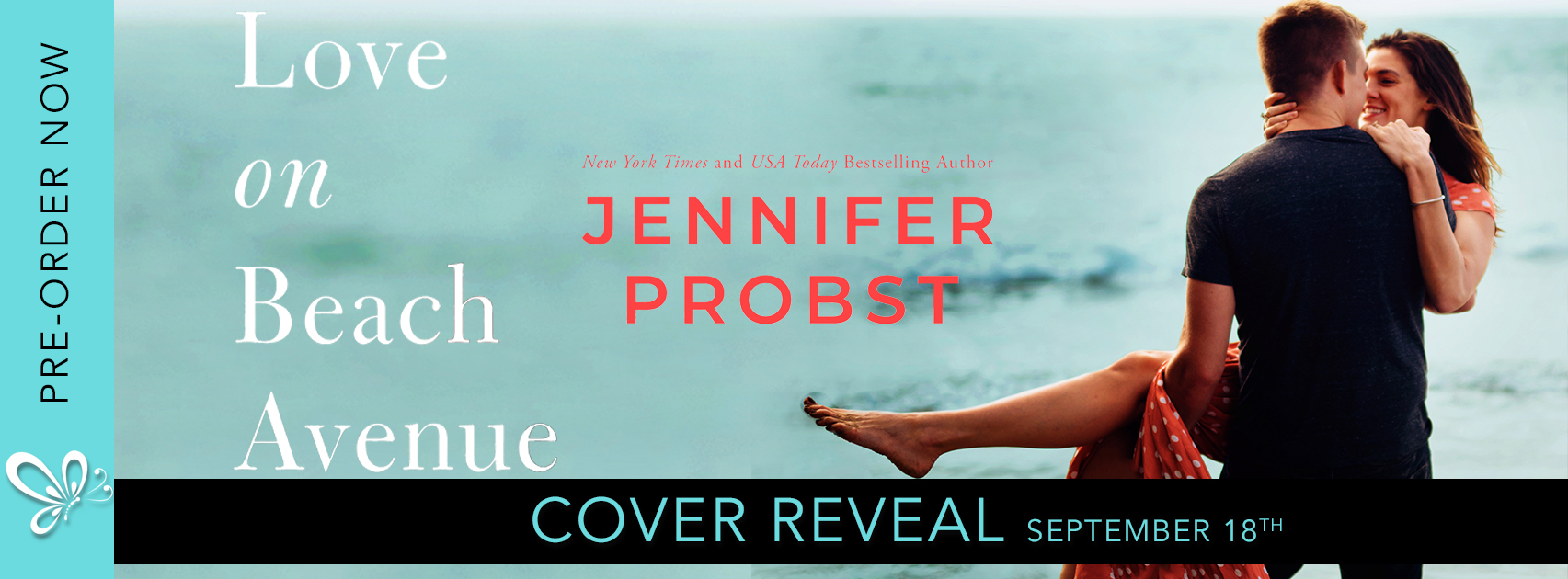 Cover Reveal: Love on Beach Avenue by Jennifer Probst