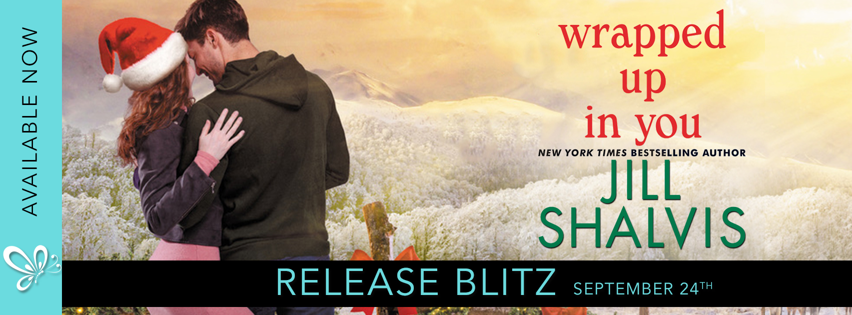 Release Blitz: Wrapped Up In You by Jill Shalvis