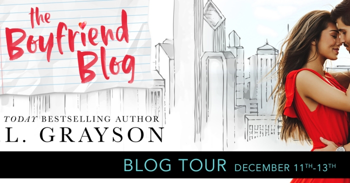 #NewRelease EXCERPT: THE BOYFRIEND BLOG by K.L. Grayson