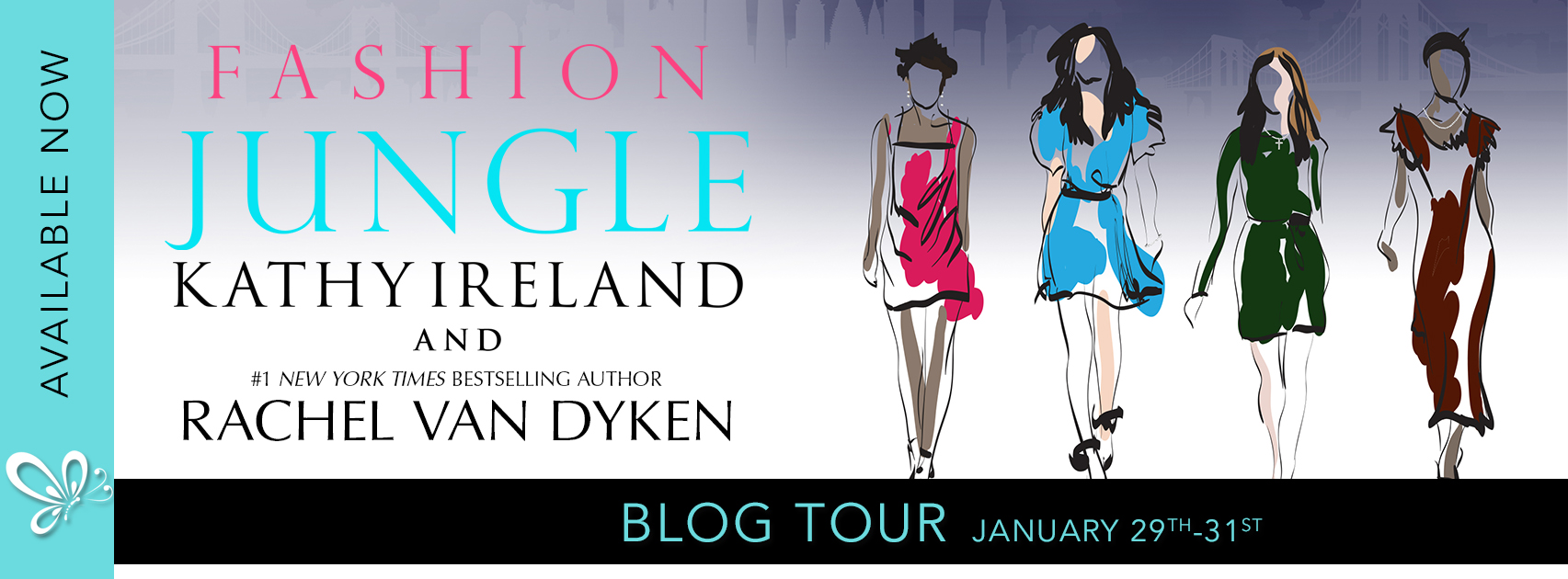 Blog Tour: Fashion Jungle by Kathy Ireland and Rachel Van Dyken