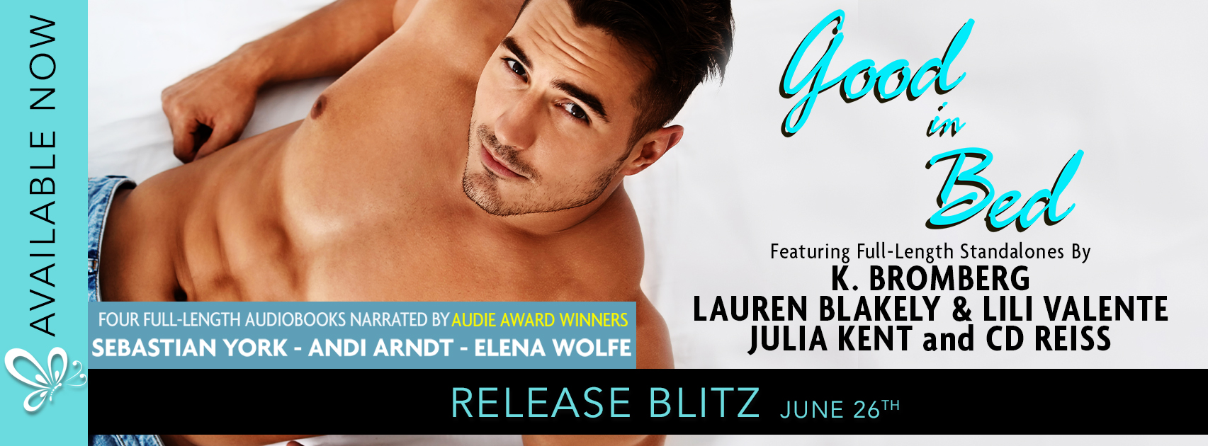 Release Blitz:  Good in Bed Audio Anthology
