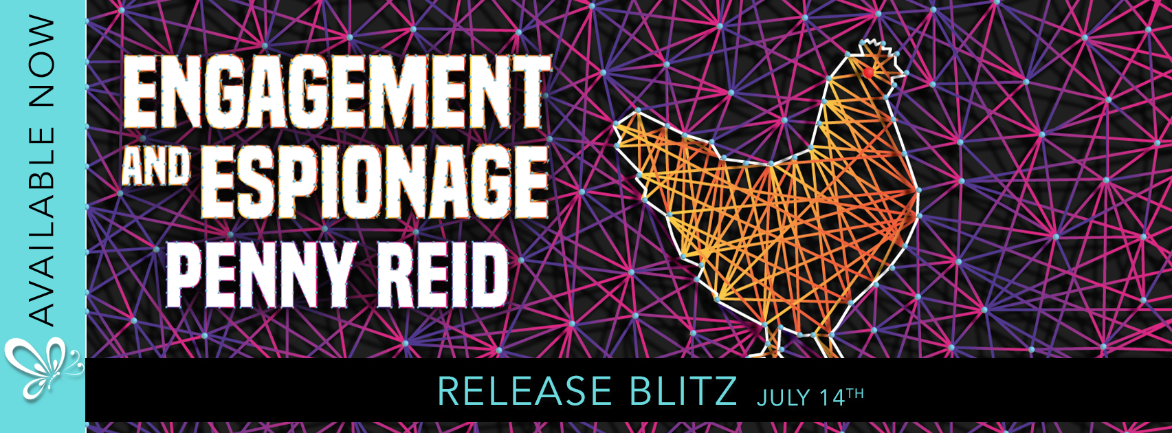 Release Blitz: Engagement & Espionage by Penny Reid